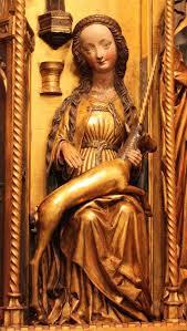 Random art Shot: the Virgin Mary (with Unicorn accessory)