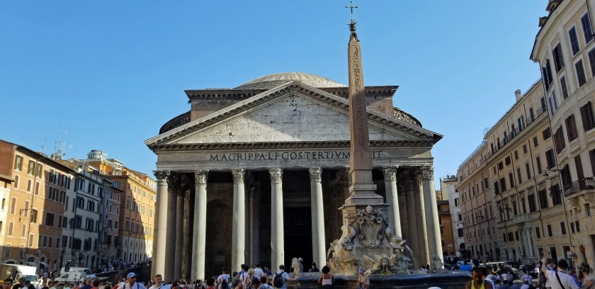 Pantheon afternoon