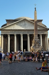 Pantheon mid afternoon