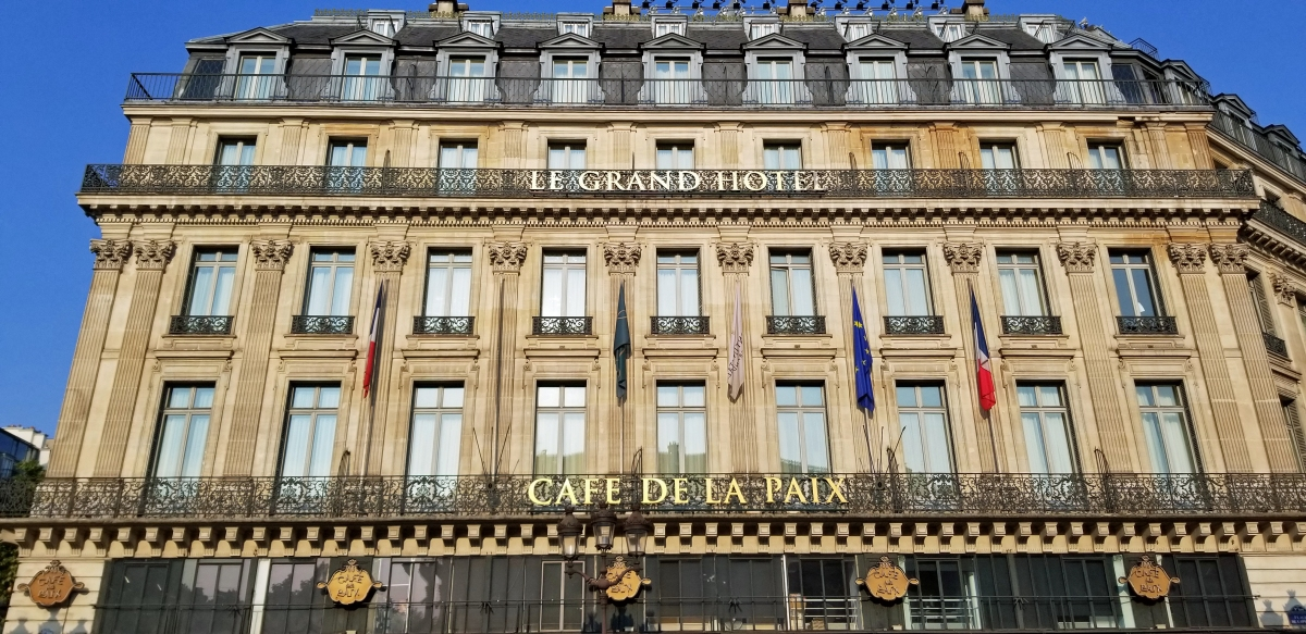 To the Café de la Paix