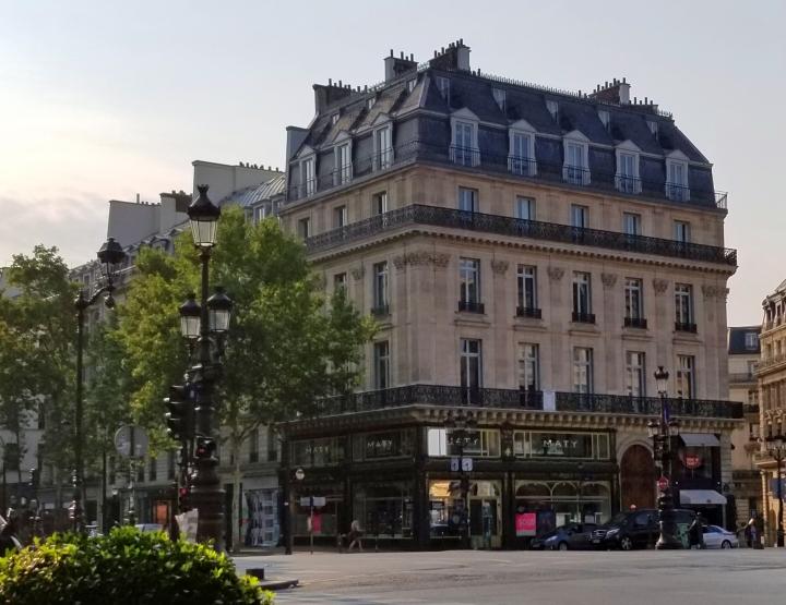 Café de la Paix to RueSaint-Martin